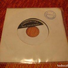 Discos de vinilo: RAMONCIN Y WC SINGLE ROCK AND ROLL DUDUA PROMOCIONAL 1978 ESPAÑA. Lote 223815572