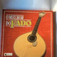 Discos de vinilo: O MELHOR DO FADO COLECCION COMPLETA 8 LPS CON SU CAJA . MÚSICA PORTUGAL. Lote 223823522