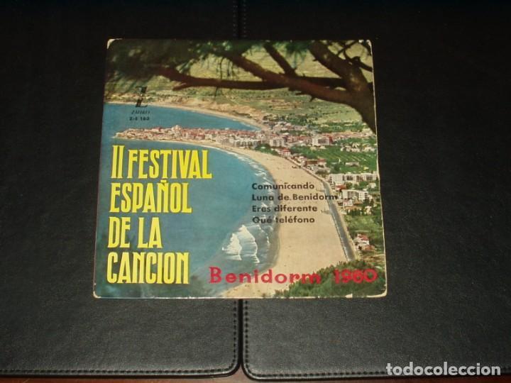 II FESTIVAL DE LA CANCION DE BENIDORM EP COMUNICANDO+3 (Música - Discos de Vinilo - EPs - Otros Festivales de la Canción)