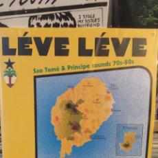 Discos de vinilo: LÉVE LÉVE : SAO TOMÉ & PRINCIPE SOUNDS 70S-80S VOL.1 . DOBLE LP VINILO PRECINTADO. Lote 223829190