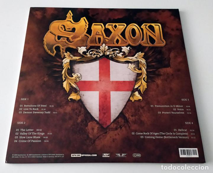 Discos de vinilo: LP SAXON - INTO THE LABYRINTH - Foto 2 - 161701302