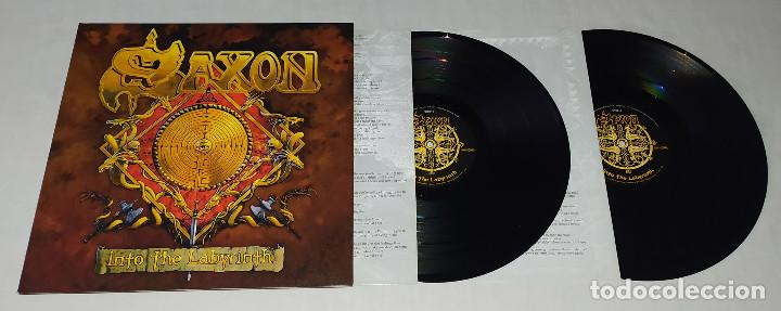 Discos de vinilo: LP SAXON - INTO THE LABYRINTH - Foto 3 - 161701302