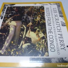 Discos de vinilo: LEE SCRATCH PERRY WITH SESKAIN MOLENGA & KALO KAWONGOLO - ROOTS FROM THE CONGO -. Lote 223829946