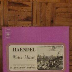 Discos de vinilo: HAENDEL* - LA GRANDE ECURIE ET LA CHAMBRE DU ROY, JEAN-CLAUDE MALGOIRE – WATER MUSIC. Lote 223830773