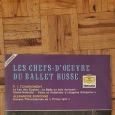 Discos de vinilo: TSCHAIKOWSKY* / BORODIN* – BALLET A LA RUSSE SELLO: DEUTSCHE GRAMMOPHON – 2726 013, DEUTSCHE GRAMM. Lote 223830998