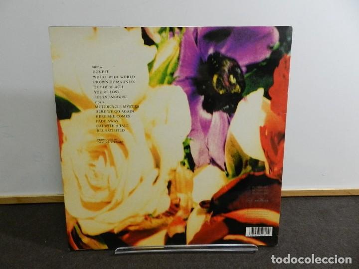 Discos de vinilo: DISCO VINILO LP. DAVE STEWARD AND THE SPIRITUAL COWBOYS - HONEST. EDICIÓN ESPAÑA. 33 RPM. - Foto 2 - 223834863