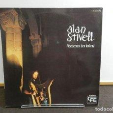Disques de vinyle: DISCO VINILO LP. ALAN STIVELL - HACIA LA ISLA. EDICIÓN ESPAÑA. 33 RPM.. Lote 223835038