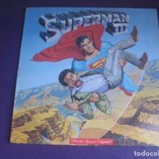 Dischi in vinile: SUPERMAN III LP WEA 1983 - BSO CINE - MORODER - KEN THORNE - CHAKA KHAN - MARSHALL CREENSHAW - ETC. Lote 223838022