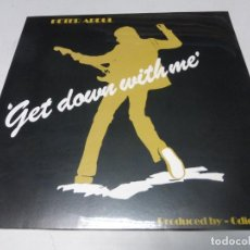 Discos de vinilo: PETER ABDUL – GET DOWN WITH ME. LP VINILO PRECINTADO . AFRO FUNK NIGERIA. Lote 223840643