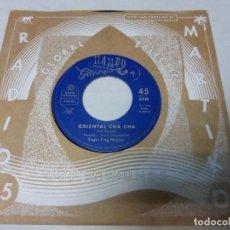 Discos de vinilo: ROGER KING MOZIAN – ORIENTAL CHA CHA / SIROCCO. SINGLE VINILO NUEVO. Lote 223842588
