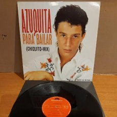 Discos de vinilo: AZUQUITA / PARA BAILAR (CHIQUITO MIX) / MAXI-SG - POLYDOR-1993 / CALIDAD LUJO. ****/****. Lote 223854533