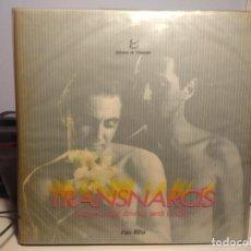 Discos de vinilo: DOBLE LP PAU RIBA : TRANSNARCIS ( LA DOBLE CUBIERTA CONTIENE 2 VINILOS + LIBRO + TARGETAS DE PERFUME. Lote 223860420