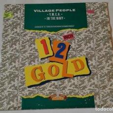 Discos de vinilo: VILLAGE PEOPLE - Y.M.C.A. / IN THE NAVY - 1989. Lote 223861933