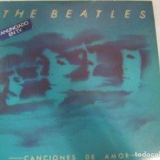 Discos de vinilo: DOBLE DISCO VINILO THE BEATLES CANCIONES DE AMOR. Lote 223887817