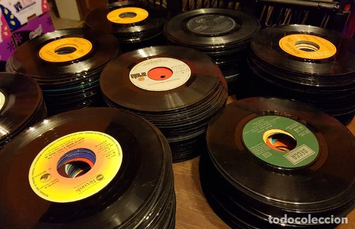 370 SINGLES SIN FUNDA PROCEDENTES DE MAQUINAS DE DISCOS - TODOS LOS ESTILOS MUSICALES (Música - Discos - Singles Vinilo - Otros estilos)