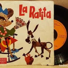 Discos de vinilo: LA RATITA - PEOMOCION STARLUX. Lote 223895640