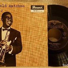 Discos de vinilo: GOOD OLD SATCHMO LOUIS ARMSTRONG. Lote 223896751