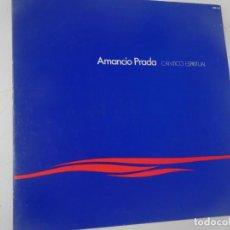 Discos de vinilo: LP, AMANCIO PRADA – CÁNTICO ESPIRITUAL, VER FOTOS. Lote 223899830