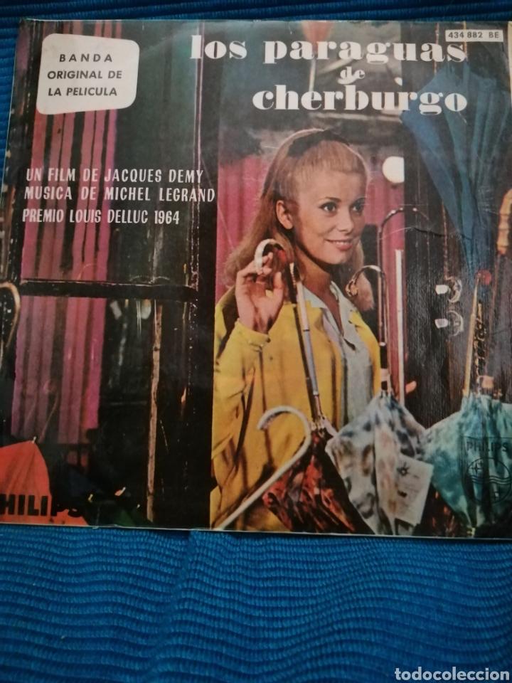 BANDA SONORA DE LA PELÍCULA LOS PARAGUAS DE CHERBURGO, MUSICA MICHEL LEGRAND (Música - Discos - Singles Vinilo - Bandas Sonoras y Actores)