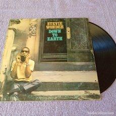 Discos de vinilo: DISCO LP STEVIE WONDER DOWN TO EARTH. Lote 223918626