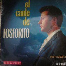 Discos de vinilo: FOSFORITO - EL CANTE DE FOSFORITO LP - ORIGINAL ESPAÑOL - BELTER RECORDS 1966 - MONOAURAL. Lote 223927888