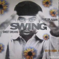 Discos de vinilo: FEAT DR. ALBAN - SWING SWEET DREAMS - MAXI 45 R.P.M. - ORIGINAL ESPAÑOL - ARIOLA 1995 -. Lote 223936692