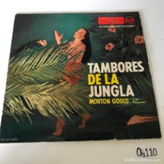 Discos de vinilo: TAMBORES DE LA JUNGLA. Lote 223937340