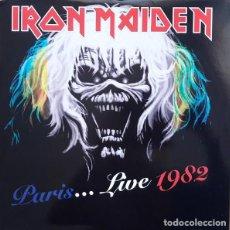 Discos de vinilo: IRON MAIDEN – PARIS...LIVE 1982 -2 LP-. Lote 246445905