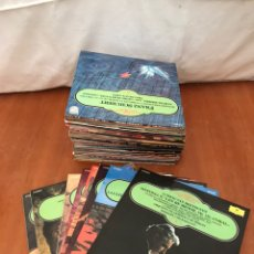 Discos de vinilo: MUSICA CLASICA LPS ENCICLOPEDIA SALVAT DE LOS GRANDES COMPOSITORES DEL 1 AL 65. Lote 223951015