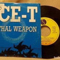 Discos de vinilo: ICE-T - LETHAL WEAPON - ARMA LETAL. Lote 223951155