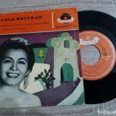 Discos de vinilo: LOLA BELTRAN .CUCURRUCUCU PALOMA.ETC.1959. Lote 223971157