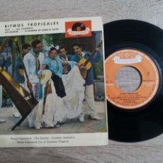 Discos de vinilo: RITMOS TROPICALES.EL HOMBRE ES COMO EL AUTO ETC..MEMO SALAMANCA 1960. Lote 223973663