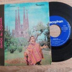 Discos de vinilo: GENSOLLEN .LA VOZ DE ORO DEL PERU.LA FLOR DE CANELA. ETC. 1962. Lote 223976582