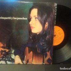 Discos de vinilo: GIGLIOLA CINQUUETTI CANTA EN ESPAÑOL CON LOS PANCHOS LP SELLO CBS AÑO 1972 PEPETO. Lote 223977510