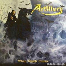 Discos de vinilo: ARTILLERY - WHEN DEATH COMES (LP, ALBUM, YEL). Lote 223977880