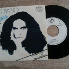Discos de vinilo: DO PIANO .AGAIN REMIX.SINGLE .1986. N 1 DISCO CHARTS.. Lote 223979501
