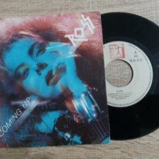 Discos de vinilo: ROSS .COMING UP 1986.SINGLE.. Lote 223980416