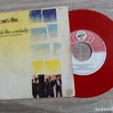 Discos de vinilo: ALPHAVILLE. SOUNDS LIKE A MELODY.1984.UNICO.VINILO COLOR ROJO.. Lote 223982258