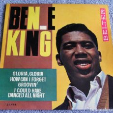 Discos de vinilo: BEN E. KING - EP - GLORIA, GLORIA + 3 - AÑO 1964. Lote 223985081