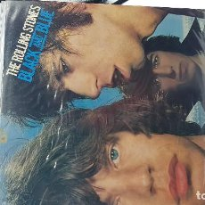 Dischi in vinile: THE ROLLING STONES. BLACK AND BLUE.. Lote 223986265