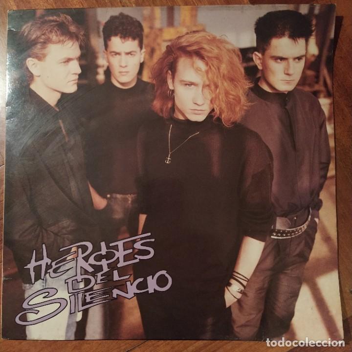 """HÉROES DEL SILENCIO - HÉROES DEL SILENCIO (12"""", MINIALBUM) (EMI) 056 748290 1 (Música - Discos - LP Vinilo - Grupos Españoles de los 70 y 80)"""