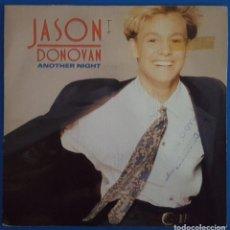 Discos de vinilo: SINGLE / JASON DONOVAN / ANOTHER NIGHT / EPIC ARIE 2457 / 1990 PROMO. Lote 223999397
