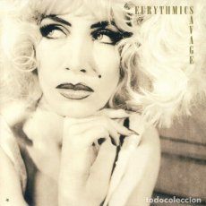 Discos de vinilo: EURYTHMICS - SAVAGE (LP, ALBUM, RE, RM, 180). Lote 224002335