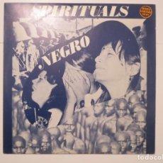 Discos de vinilo: SPIRITUALS NEGRO EDIGSA 1974 LP VINILO. Lote 224002602