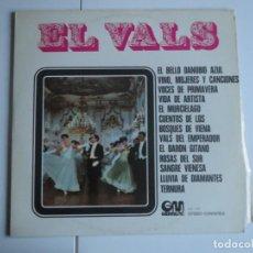Discos de vinilo: EL VALS FRANZ WEBER Y SU ORQUESTA VIENESA GRAMUSIC 1971 LP VINILO. Lote 224003098