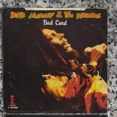 Discos de vinilo: BOB MARLEY. DOS SINGELS.. Lote 224005230
