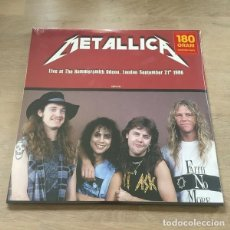 Discos de vinilo: METALLICA - LIVE AT THE HAMMERSMITH ODEON LONDON SEPTEMBER 21TH 1986 (LP, ALBUM, UNOFFICIAL, RED). Lote 224007533