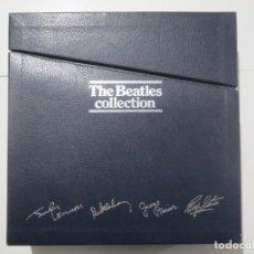 Discos de vinilo: THE BEATLES COLLECTION 13 LP VINILO POSTER DESPLEGABLE EM 1964 FALTAN LAS 4 FOTOGRAFIAS A4. Lote 224007625