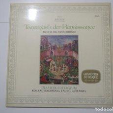 Discos de vinilo: DANZAS DEL RENACIMIENTO ARCHIV 1973 LP VINILO TANZMUSIK DER RENAISSANCE. Lote 224008330