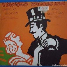 Discos de vinilo: SINGLE / CONCHA VELASCO Y JOSE SACRISTAN EN YO ME BAJO EN LA PRÓXIMA ¿Y USTED? / RM RS-786 / 1981. Lote 224015373